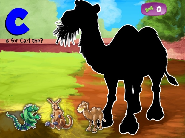 Jessie the Jack's ABC Zoo App.